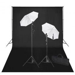 Zestaw studio: czarne tło 600x300 i oświetlenie Zapisz się do naszego Newslettera i odbierz voucher 20 PLN na zakupy w VidaXL!
