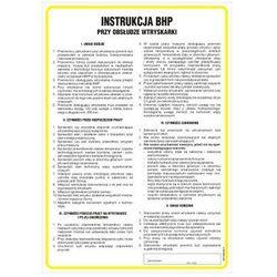 Instrukcja BHP przy obsłudze wtryskarki