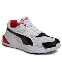 Sneakersy PUMA - 90s Runner 372549 04 Puma White/Puma Black/Red
