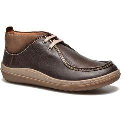 Buty sznurowane Clarks Gait Mid Męskie Brązowe Dostawa 2 do 3 dni