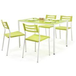 Zestaw HALMAR FIGARO Stół + 4 krzesła, Kolory