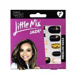 Elegant Touch Little Mix Press On Nails - Sztuczne paznokcie zdobione Jade 2, 24 paznokcie