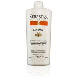 Kerastase Bain Satin 1 - Kąpiel odżywcza do włosów lekko suchych, uwrażliwionych 1000 ml