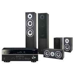 Kino domowe YAMAHA HTR-4068 + Pure Acoustics Nova Czarny