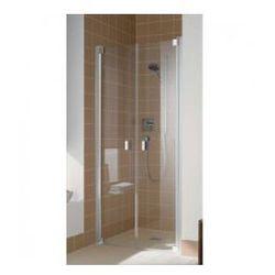 Drzwi prysznicowe Kermi Raya 90 cm, wahadłowe dwuskrzydłowe RAPTD09320VAK