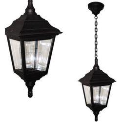 Zewnętrzna LAMPA wisząca KERRY CHAIN Elstead klasyczna OPRAWA ogrodowy ZWIS IP44 outdoor latarnia czarny