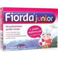 Fiorda junior (smak malinowy) 15 pastyl.