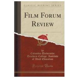 Film Forum Review (Classic Reprint)