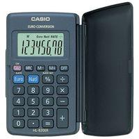Kalkulator Casio HL-820VER Kalkulator kieszonkowy z konwersją EURO Wyświetlacz: 8 cyfrPierwiastek kwadratowyPamięćKonwersja EUROProcenty (MLP)Naliczanie marżyWymiary: 7,5 x 127 x 104 mmWaga: 45 gZasilanie: bateriaTwarda klapka ochronna