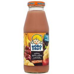 BOBO FRUT 300ml Nektar jabłko banan wiśnia i aronia po 6 miesiącu