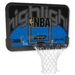 Tablica do koszykówki NBA Highlight Spalding Dostawa GRATIS!
