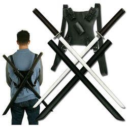 Miecze ninja - Twin Ninja Katana with Back Strap (SW-896BK3)