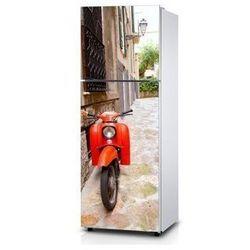 Naklejka na lodówkę - Włoska uliczka - Naklejka laminowana