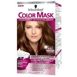 Color Mask, Farba do włosów, 657 Jasny miedziany brąz