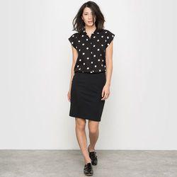 Sukienka koszulowa w groszki LES PETITS PRIX