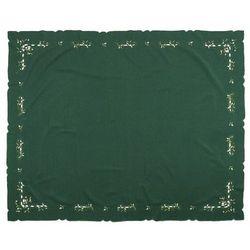Forbyt Obrus świąteczny jemioła, zielony, 120 x 140 cm