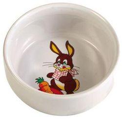 TRIXIE miska ceramiczna dla królika z motywem, 300ml