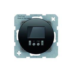 Berker seria R Regulator temp. ze sterownikiem czasowym ze stykiem zmiennym czarny - 20452045