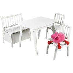 GEUTHER Komplet mebli do zabawy Bambino zestaw 20 - kolor biały