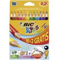 Kredki ołówkowe Bic Kids Evolution Triangle 887146 12kol.
