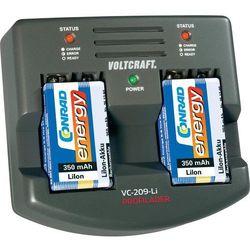 Ładowarka mikroprocesorowa Voltcraft VC209-Li, do akumulatorów Li-Ion 9V