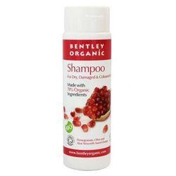 Organiczny Szampon do Włosów Suchych i Zniszczonych z Oliwką, Aloesem, Pomarańczą i Granatem, 250 ml, BENTLEY ORGANIC