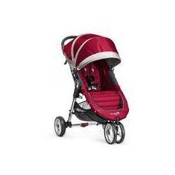 Wózek spacerowy City Mini Single Baby Jogger + GRATIS (crimson/gray)
