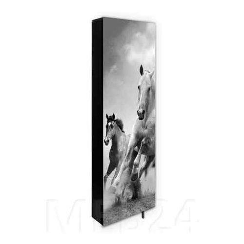 55343b9a8 Obrotowa szafa na buty DAF z nadrukiem konie - porównaj zanim kupisz