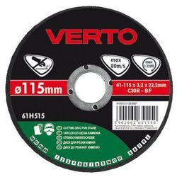 Tarcza do cięcia VERTO 61H525 125 x 3.2 x 22.2 mm do kamienia