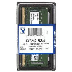 Kingston KVR21S15S8/4 DDR4 SO-DIMM 4GB 2133MHz (1x4GB)- wysyłka dziś do godz.18:30. wysyłamy jak na wczoraj!