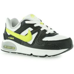 BUTY SPORTOWE NIKE AIR MAX COMMAND (TD) WHITE VENOM GREEN