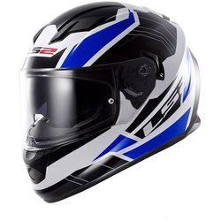 Kask motocyklowy LS2 FF320 STREAM OMEGA BLUE