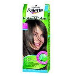 Farba do włosów Palette Permanent Natural Colors Jasny brąz 600
