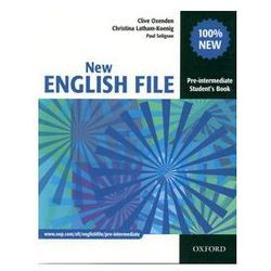 New English File Pre-Intermediate Student's book (opr. miękka)