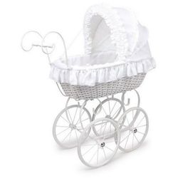 Wózek wiklinowy dla lalek Anastazja