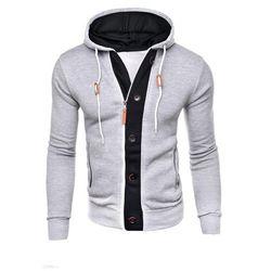 bluza bokserska meska szara z czernia w kategorii Bluzy
