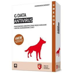 Program GDATA Antivirus 1PC 1 rok BOX