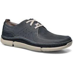 Buty sznurowane Clarks Trikeyon Fly Męskie Niebieskie Dostawa 2 do 3 dni