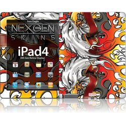 Rovens.pl Nexgen Skins - Zestaw skórek na obudowę z efektem 3D iPad 2/3/4 (Iron Eagle 3D)