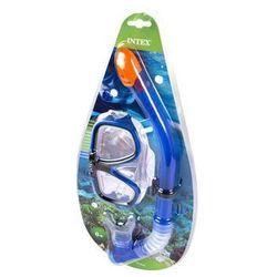 INTEX Maska fajka do pływania
