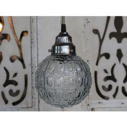 Stylowa lampa wisząca kula 21 cm