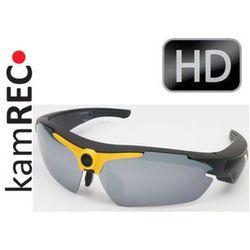 Sportowe okulary z kamerą HD 1280x720