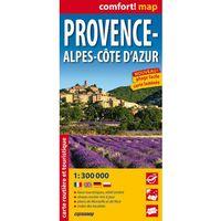 Provence-Alpes-CôTe D'Azur Laminowana Mapa Samochodowo-Turystyczna 1:300 000 (opr. miękka)