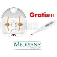 Masażer do stóp Medisana FS885 (masaż wibracyjny, masaż czerwonym + Termometr FTC Medisana (elektroniczny, wyświetlacz LCD, funkcja pamięci
