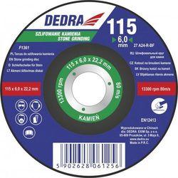 Tarcza do szlifowania kamienia DEDRA F1365 230 x 6.0 x 22.2 wypukła