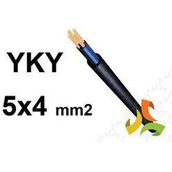 KABEL YKY 5x4mm2 0,6/1kV PRZEWÓD ZIEMNY MIEDZIANY