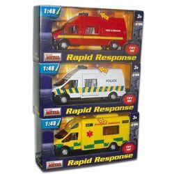 Samochód służb ratunkowych 1:48 mix