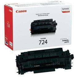 Canon oryginalny toner CRG724, black, 6000s, 3481B002, Canon i-SENSYS LBP-6750dn