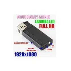 Zapalniczka FULL HD Nagywaj. Obraz + Dźwięk + Żarnik + LED+...