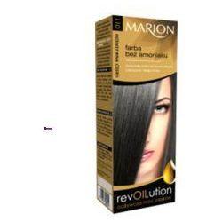 Marion RevOILution (W) farba do włosów bez amoniaku 110 Intensywna Czerń 80ml